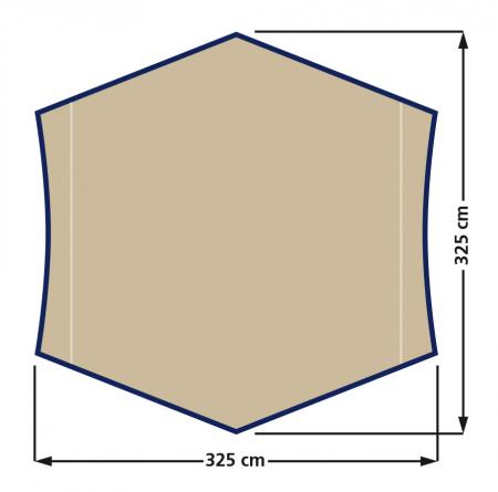 Tenda Eurotrail Hardin ETTE0616, 325x325cm [2]