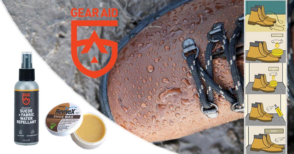 Revivex McNett-Gear Aid - tratament de ingrijire și impermeabilizare a bocancilor de tura