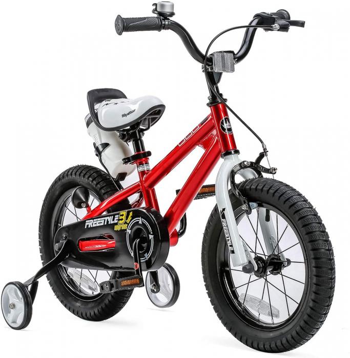 Bicicleta RoyalBaby Freestyle 16'' Red [0]