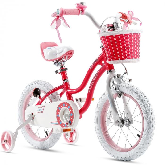Bicicleta RoyalBaby Star Girl 16'' Pink [0]