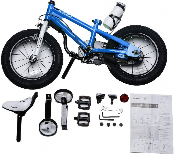 Bicicleta RoyalBaby Freestyle 16'' Blue [3]