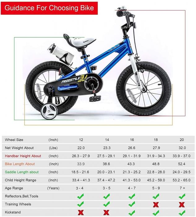 Bicicleta RoyalBaby Freestyle 16'' Blue [4]