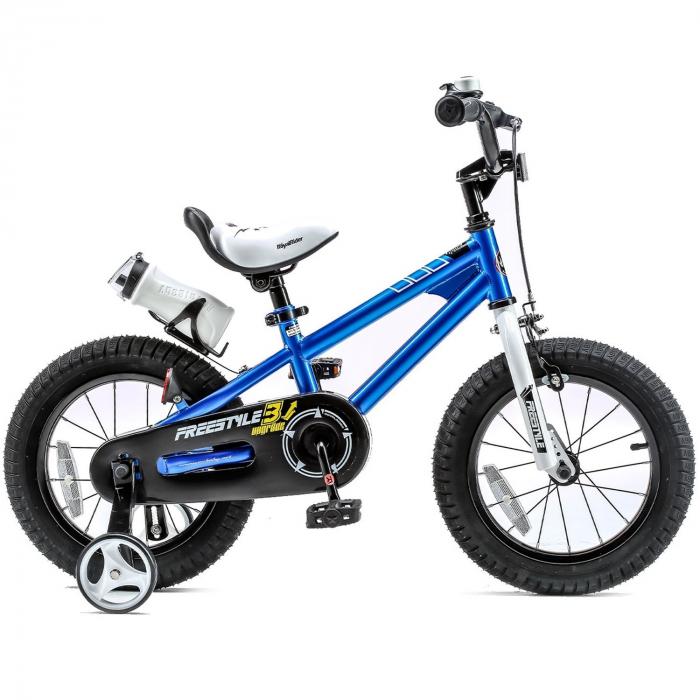 Bicicleta RoyalBaby Freestyle 16'' Blue [1]