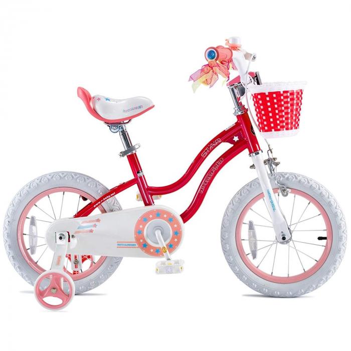 Bicicleta RoyalBaby Star Girl 16'' Pink [2]