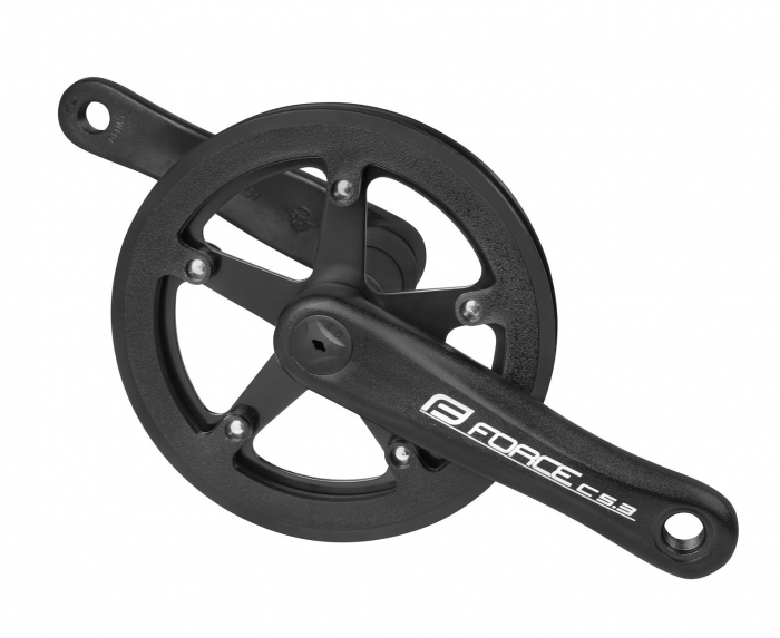 Angrenaj pedalier Force C5.3 Al 140mm negru 40T [0]