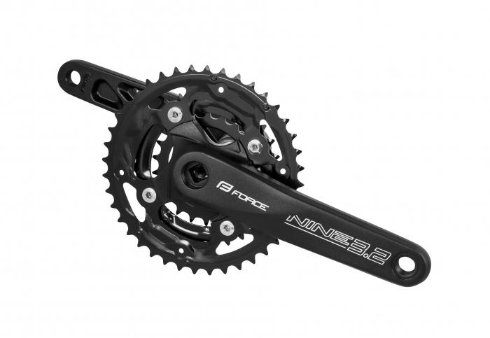 Angrenaj pedalier Force Nine 3.2 Al 40/30/22T 175mm negru [0]