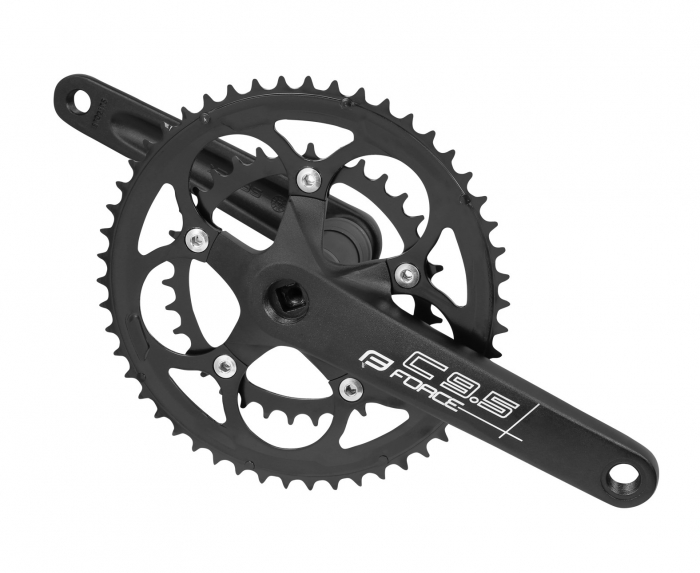 Angrenaj pedalier Force Road C9.5 AL 50/34T 175mm negru [0]