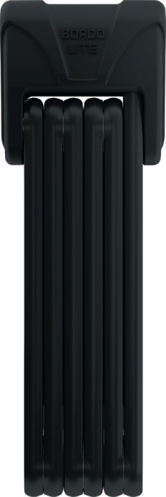 Antifurt Abus Bordo Lite 6050/85 pliabil negru [0]