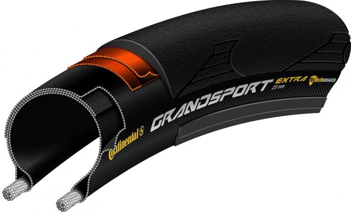 Anvelopa pliabila Continental Grand Sport Extra 25-622 neagra [1]