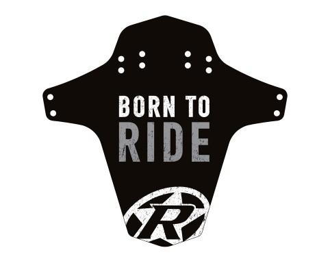 Aparatoare Reverse Born to Ride negru/alb/gri [0]