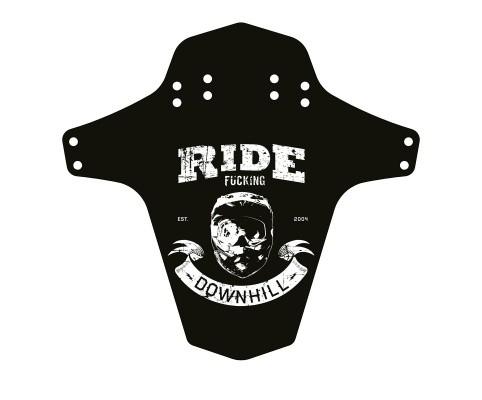 Aparatoare Reverse Ride Fucking Downhill negru/alb [0]