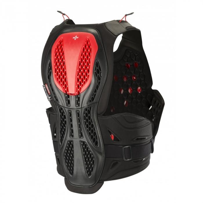 Armura Alpinestars Bionic Plus Protection Vest Negru/Rosu M/L [2]