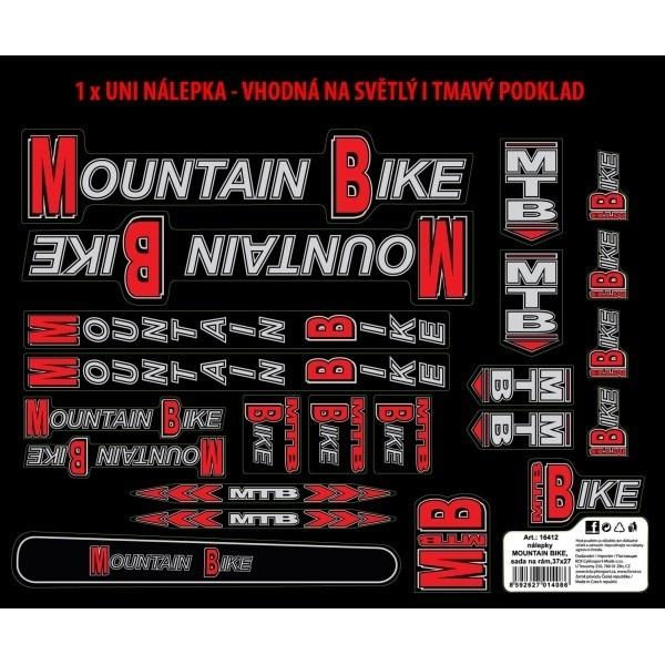 Autocolante cadru Force Mountain Bike 37x27 cm [0]