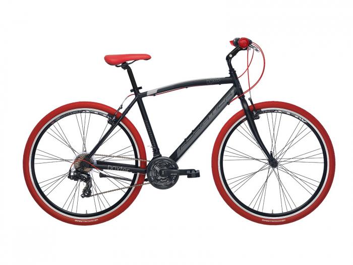 Bicicleta Adriatica Boxter RT 28 18V neagra 50 cm [0]