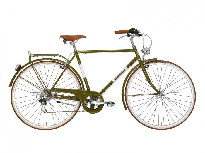 Bicicleta Adriatica Condorino 28 verde 54 cm [0]