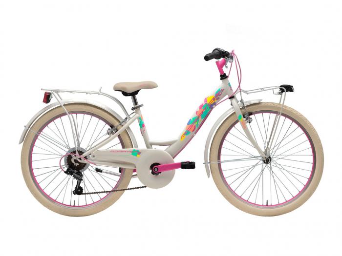 Bicicleta Adriatica CTB 24 Donna 2021 6V crem/magenta [0]