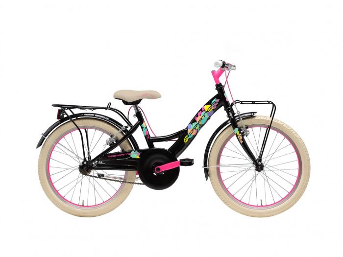 """Bicicleta Adriatica Girl 20"""" Bimba 2021 1V negru/crem/magenta [0]"""