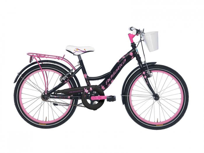 Bicicleta Adriatica Girl 20 negru/roz [0]
