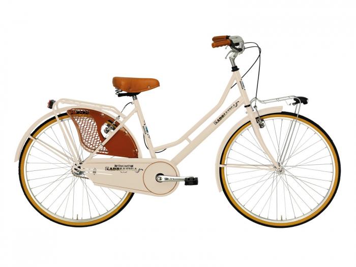 Bicicleta Adriatica Lady Week End 26 1v crem 45 cm [0]