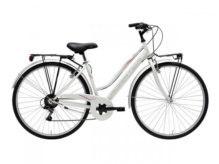 Bicicleta Adriatica Movie lady 6V 28' Alba [0]
