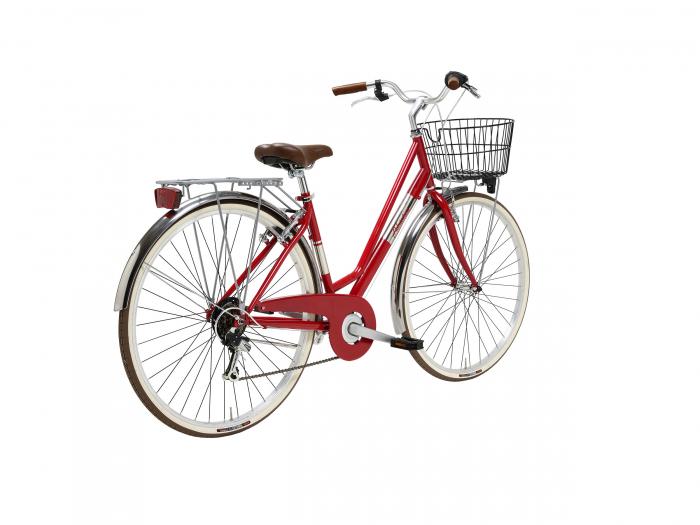 Bicicleta Adriatica Panarea Lady 28 Rosu/Alb 450mm [2]