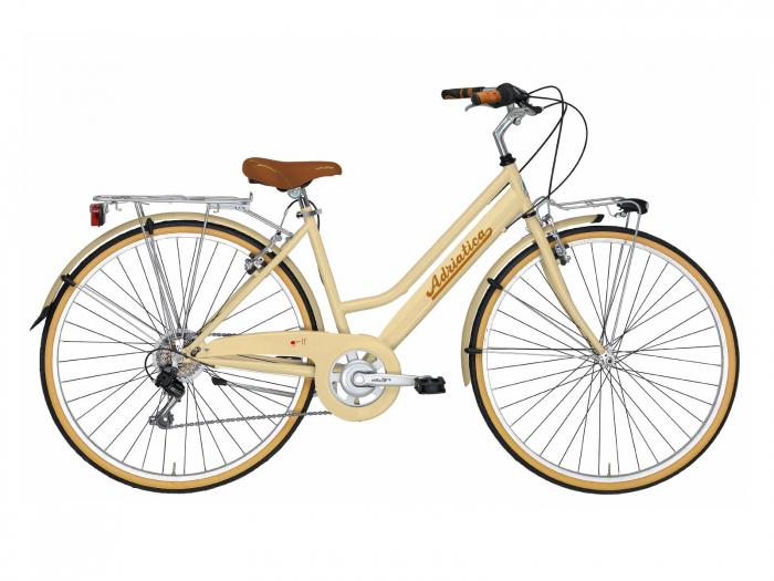 Bicicleta Adriatica Panarea Lady 28 Cream 450mm [0]