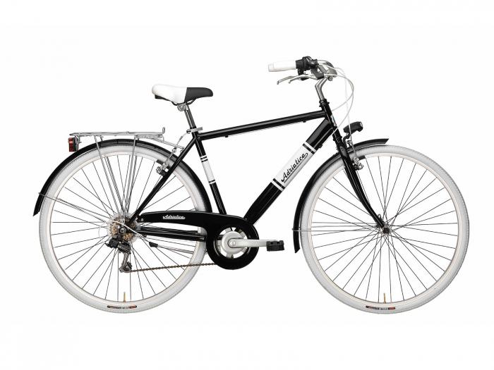 Bicicleta Adriatica Panarea Man 28 Negru 500mm [0]
