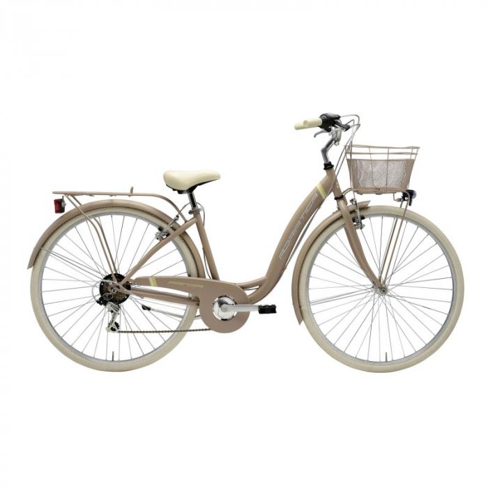 Bicicleta Adriatica Panda 28' Lady 6V Matt Sand 42 cm [0]