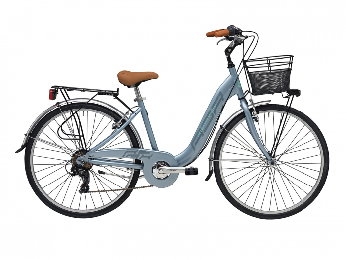 Bicicleta Adriatica Relax 26 6V Gri 45cm [0]