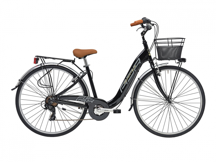 Bicicleta Adriatica Relax 28 6V Negru 45cm [0]