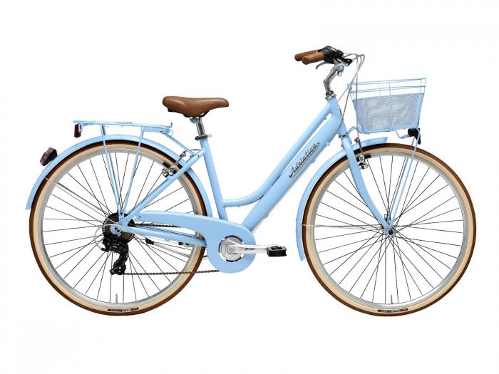 Bicicleta Adriatica Retro Lady 28 Bleu 45 cm [0]