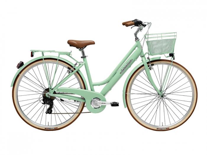 Bicicleta Adriatica Retro Lady 28 verde 45 cm [0]
