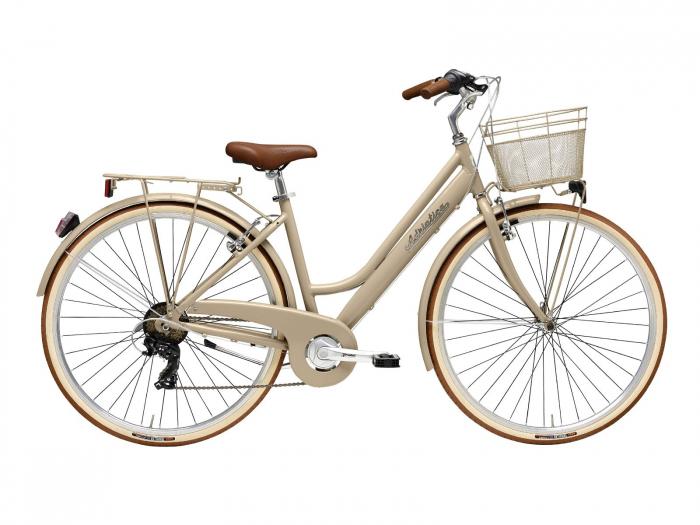 Bicicleta Adriatica Retro Lady 28 Maro Deschis 45 cm [0]