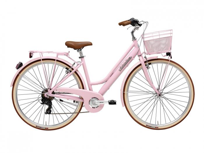 Bicicleta Adriatica Retro Lady 28 Roz 45 cm [0]