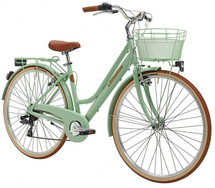 Bicicleta Adriatica Retro Lady 28 verde 45 cm [1]