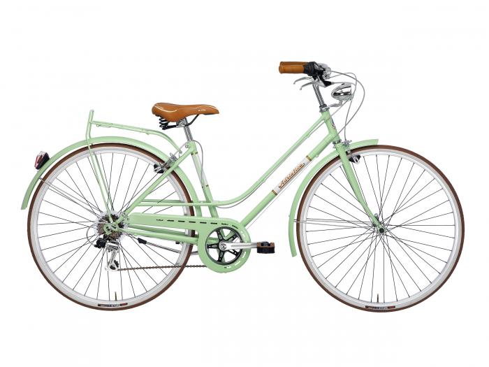 Bicicleta Adriatica Rondine Lady 28 6V verde 45 cm [0]