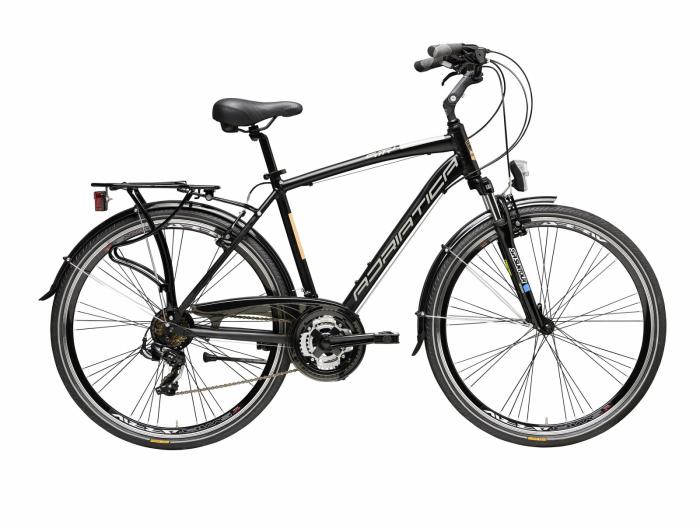 Bicicleta Adriatica Sity 2 Man neagra 50 cm [0]