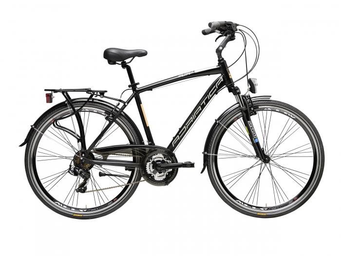 Bicicleta Adriatica Sity 2 Man neagra 55 cm [0]