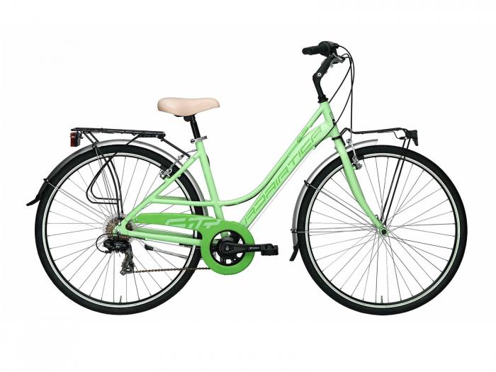 Bicicleta Adriatica Sity 3 6V Donna, Verde, 45cm [0]