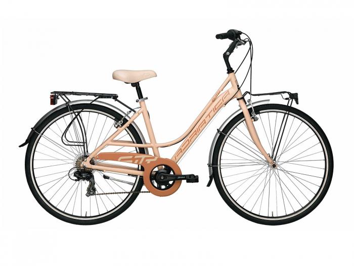 Bicicleta Adriatica Sity 3 6V Donna, Roz, 45cm [0]