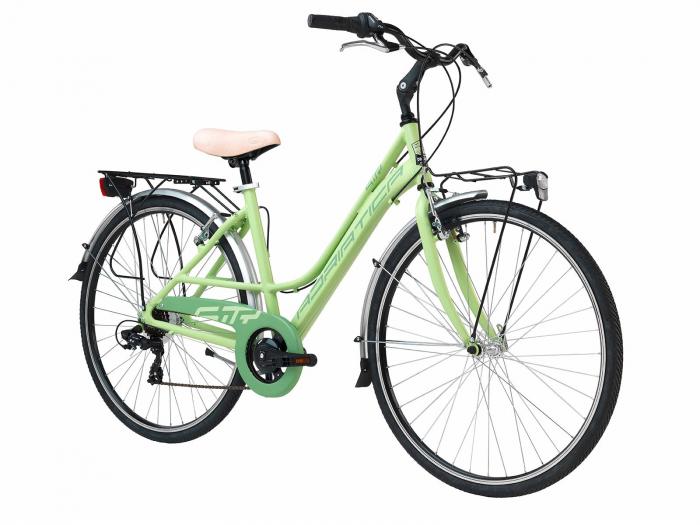 Bicicleta Adriatica Sity 3 6V Donna, Verde, 45cm [1]