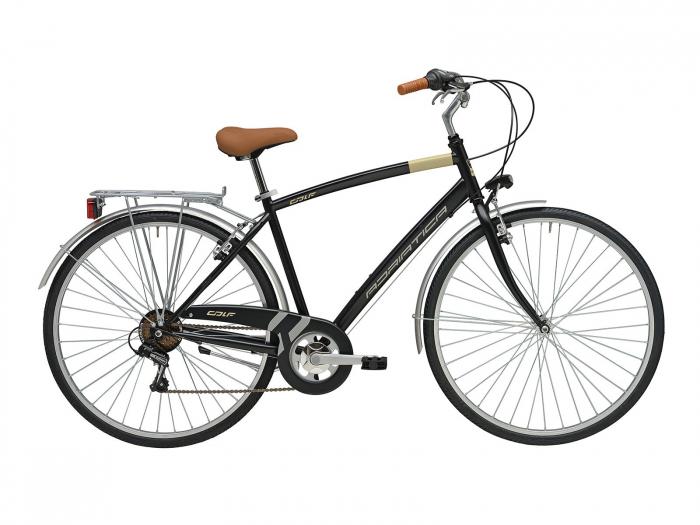 Bicicleta Adriatica Trend Man 28 NegruMat 500mm [0]