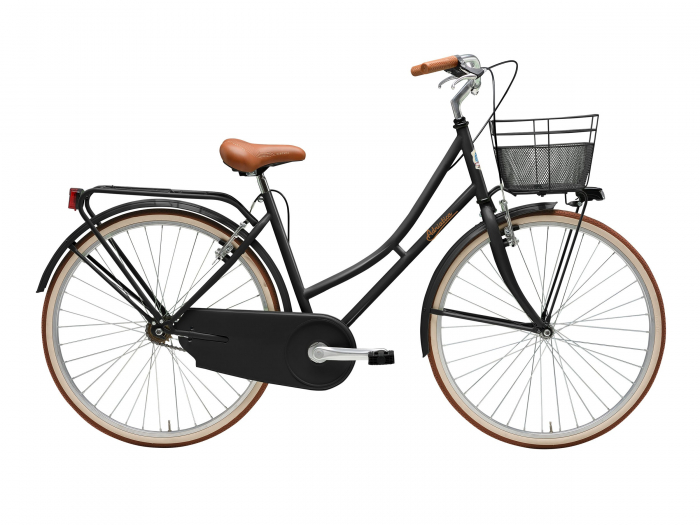"Bicicleta Adriatica Week End Lady 26"" 2021 1V neagra 45 cm [0]"