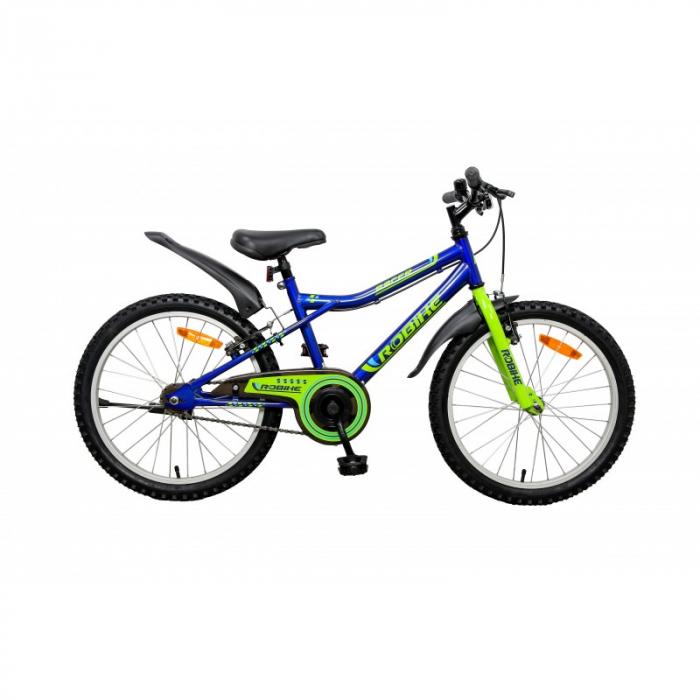 Bicicleta copii Robike Racer 20 albastru/verde [0]