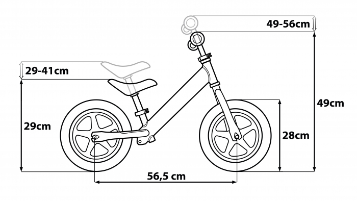 Bicicleta copii Seven Star Wars BB8 Metal Balance Bike [3]