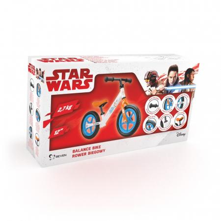 Bicicleta copii Seven Star Wars BB8 Metal Balance Bike [2]