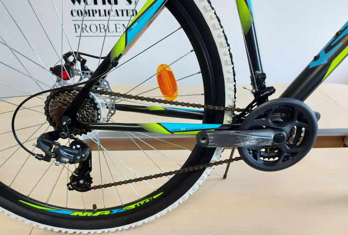 """Bicicleta MTB Sprint Active 29"""" 2021 Turcoaz mat 480 mm [1]"""