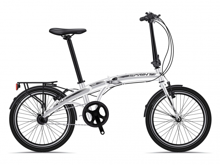 Bicicleta pliabila Sprint Comfort 20 Nexus 3, Alb [0]