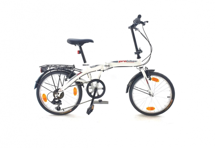 Bicicleta pliabila Sprint Probike Folding 20 6sp Alb [0]