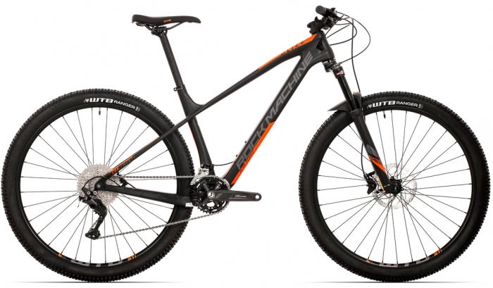 Bicicleta Rock Machine Blizz CRB 20-29 29'' Negru/Portocaliu [1]